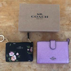 New Coach card wallet